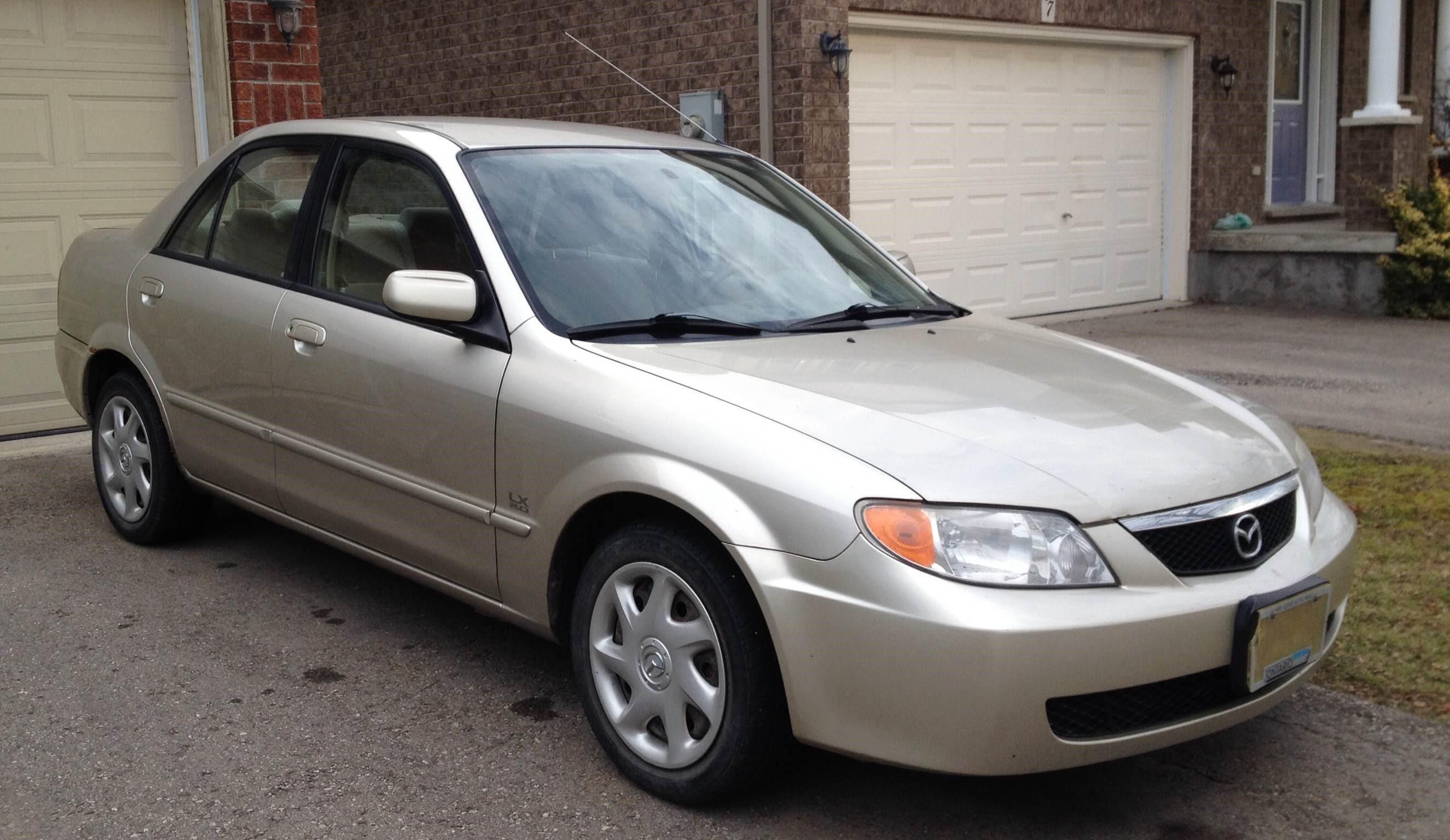 2002 Mazda Protege For Sale In Alliston Fuel Filter Location