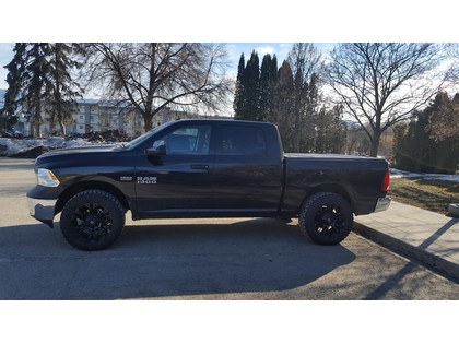 Truck 2016 Dodge Ram 1500 Pickup Black In Armstrong Bc 42 500