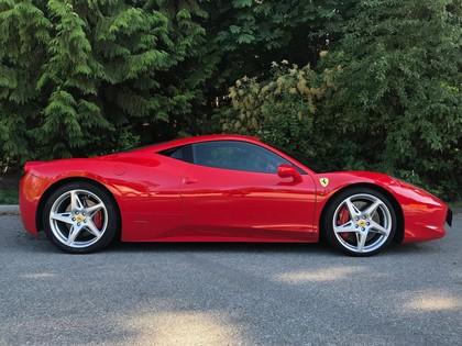 2011 Ferrari 458 Italia Coupe Maple Ridge 238500 Autotrader